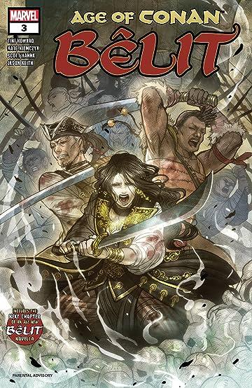 Age Of Conan: Belit, Queen Of The Black Coast (2019) No.3 (sur 5)