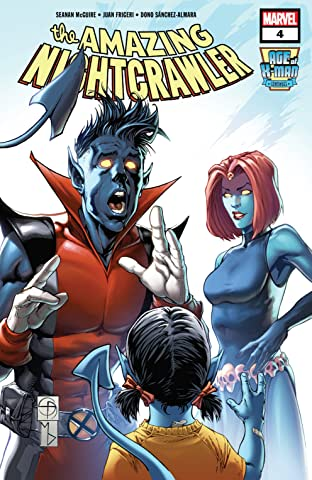 Age Of X-Man: The Amazing Nightcrawler (2019) #4 (of 5)