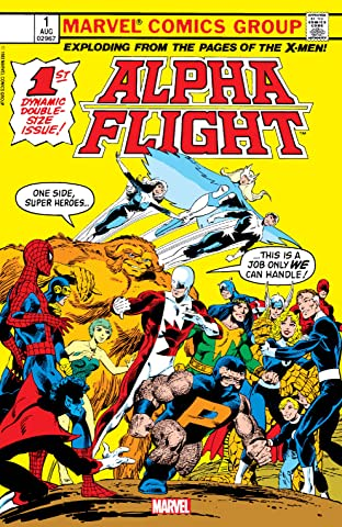 Alpha Flight (1983-1994) No.1: Facsimile Edition