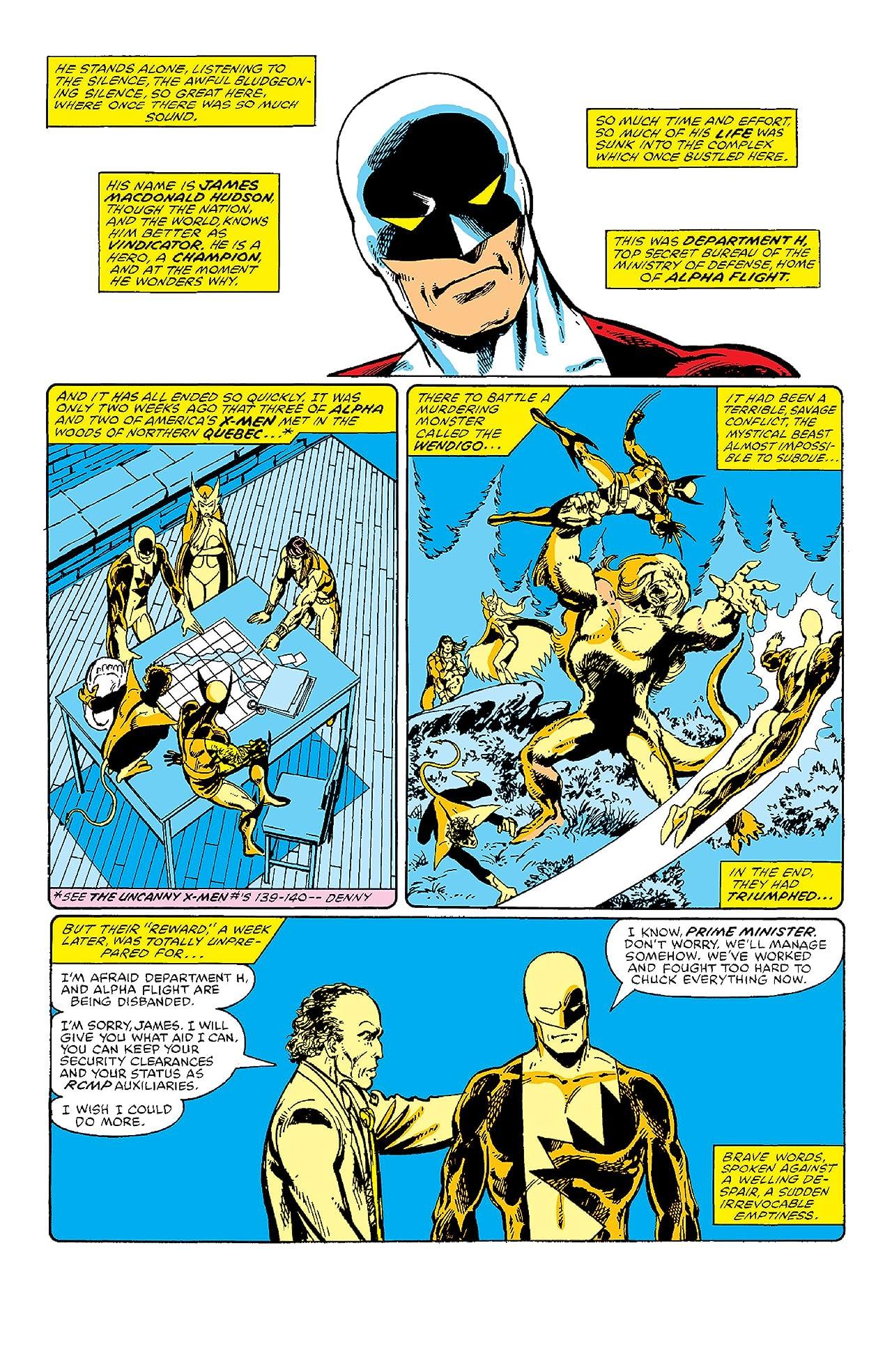 Alpha Flight (1983-1994) #1: Facsimile Edition