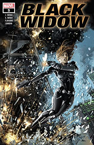 Black Widow (2019) No.5 (sur 5)