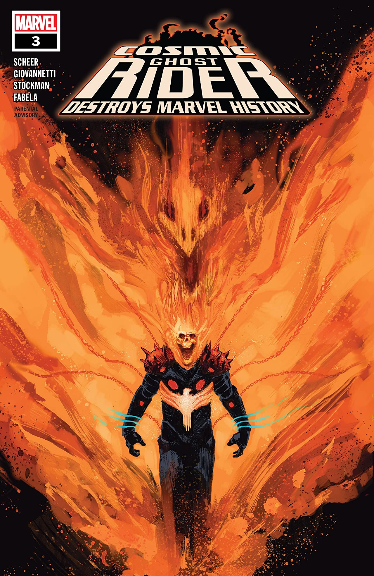 Cosmic Ghost Rider Destroys Marvel History (2019) No.3 (sur 6)