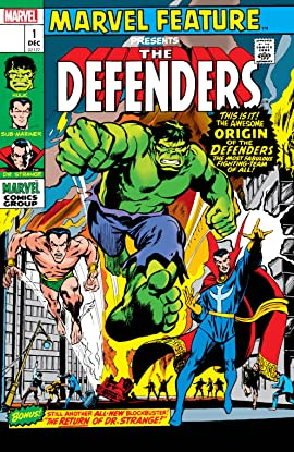 Defenders: Marvel Feature (1971-1973) #1: Facsimile Edition