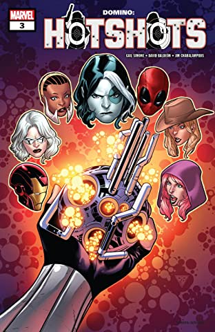 Domino: Hotshots (2019) #3 (of 5)