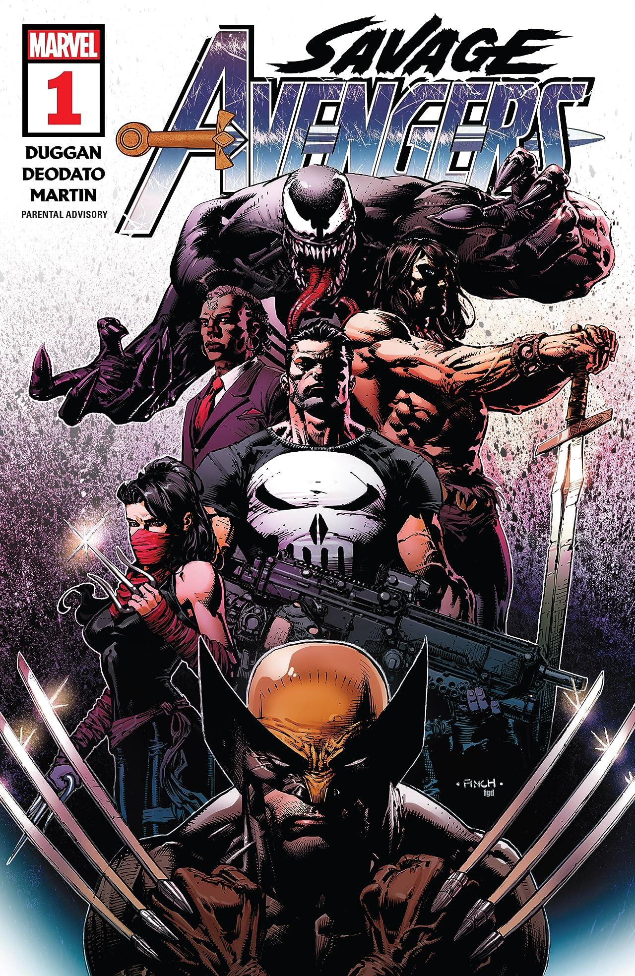 Savage Avengers (2019-) #1: Director's Cut