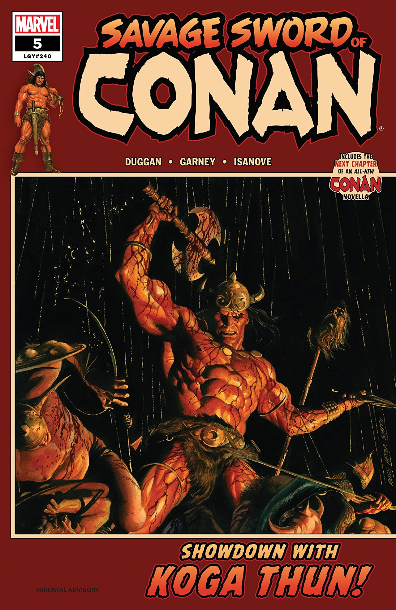 Savage Sword Of Conan (2019-) No.5