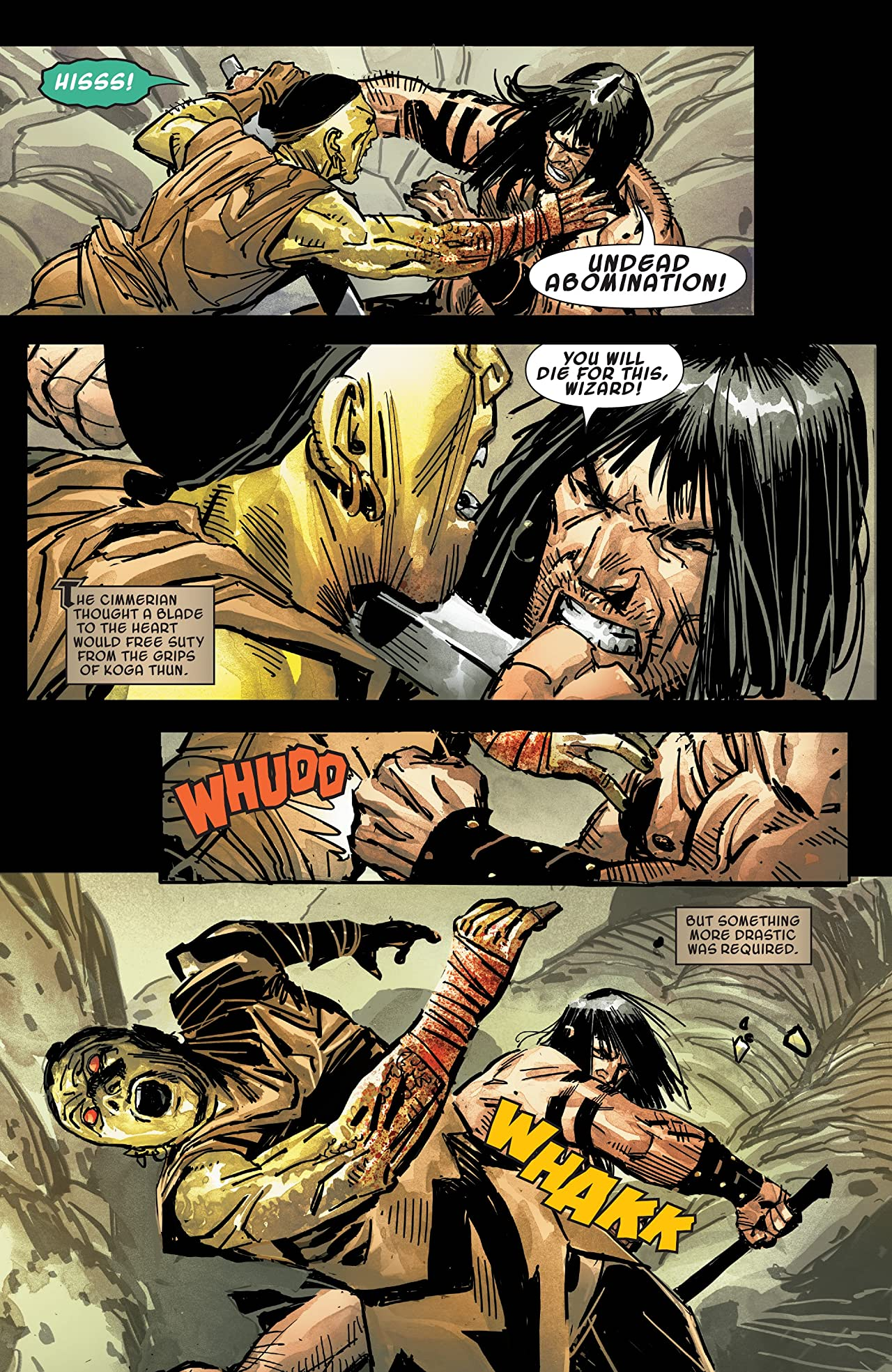 Savage Sword Of Conan (2019-) #5