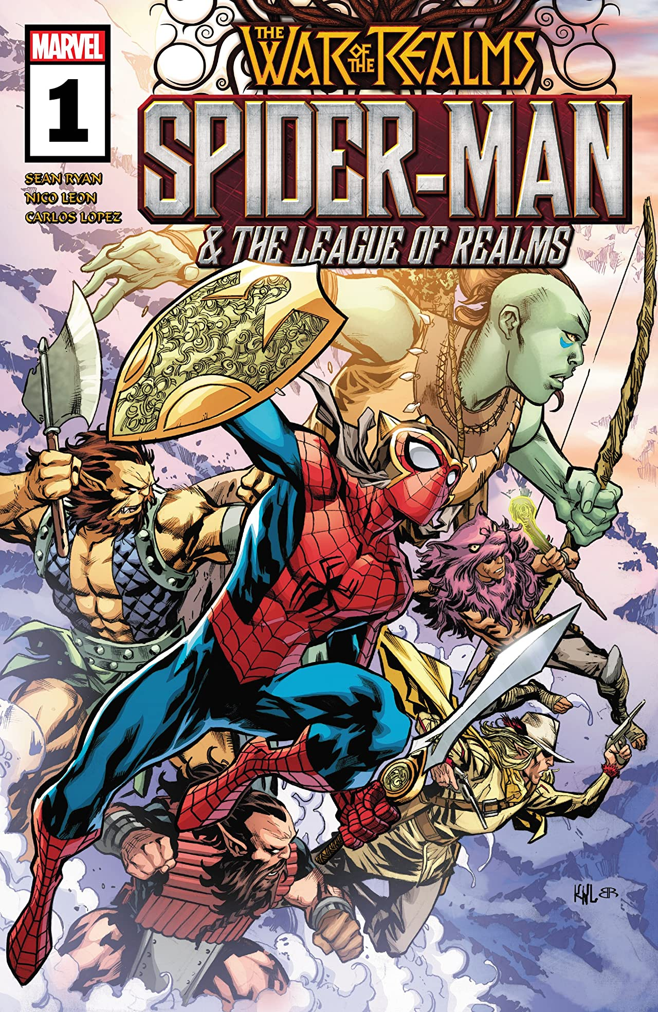 Spider-Man & The League Of Realms (2019) No.1 (sur 3)