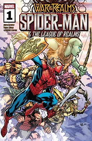 Spider-Man & The League Of Realms (2019) #1 (of 3)