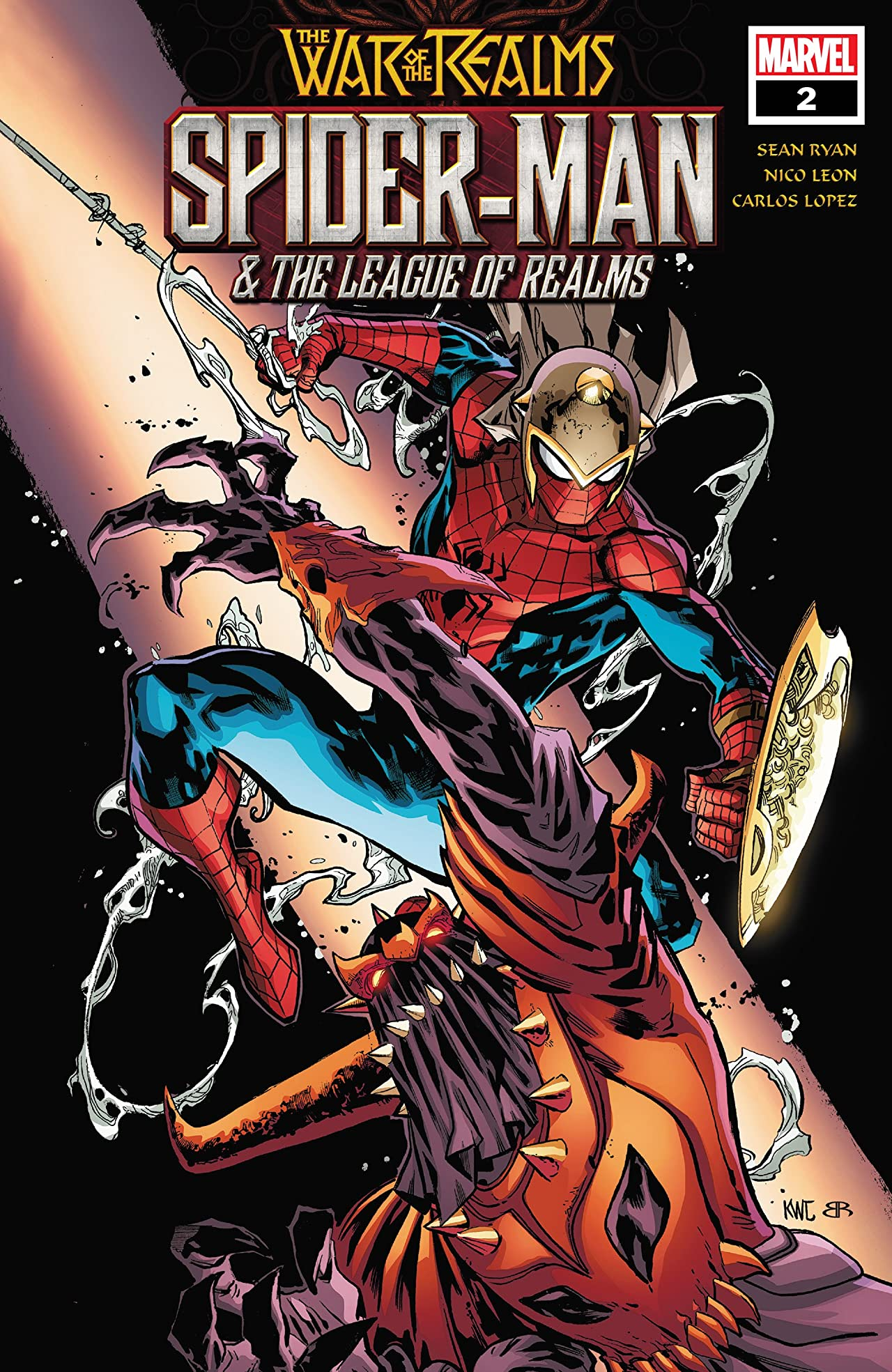 Spider-Man & The League Of Realms (2019) No.2 (sur 3)