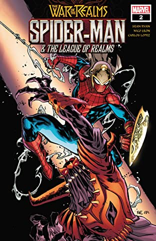 Spider-Man & The League Of Realms (2019) #2 (of 3)