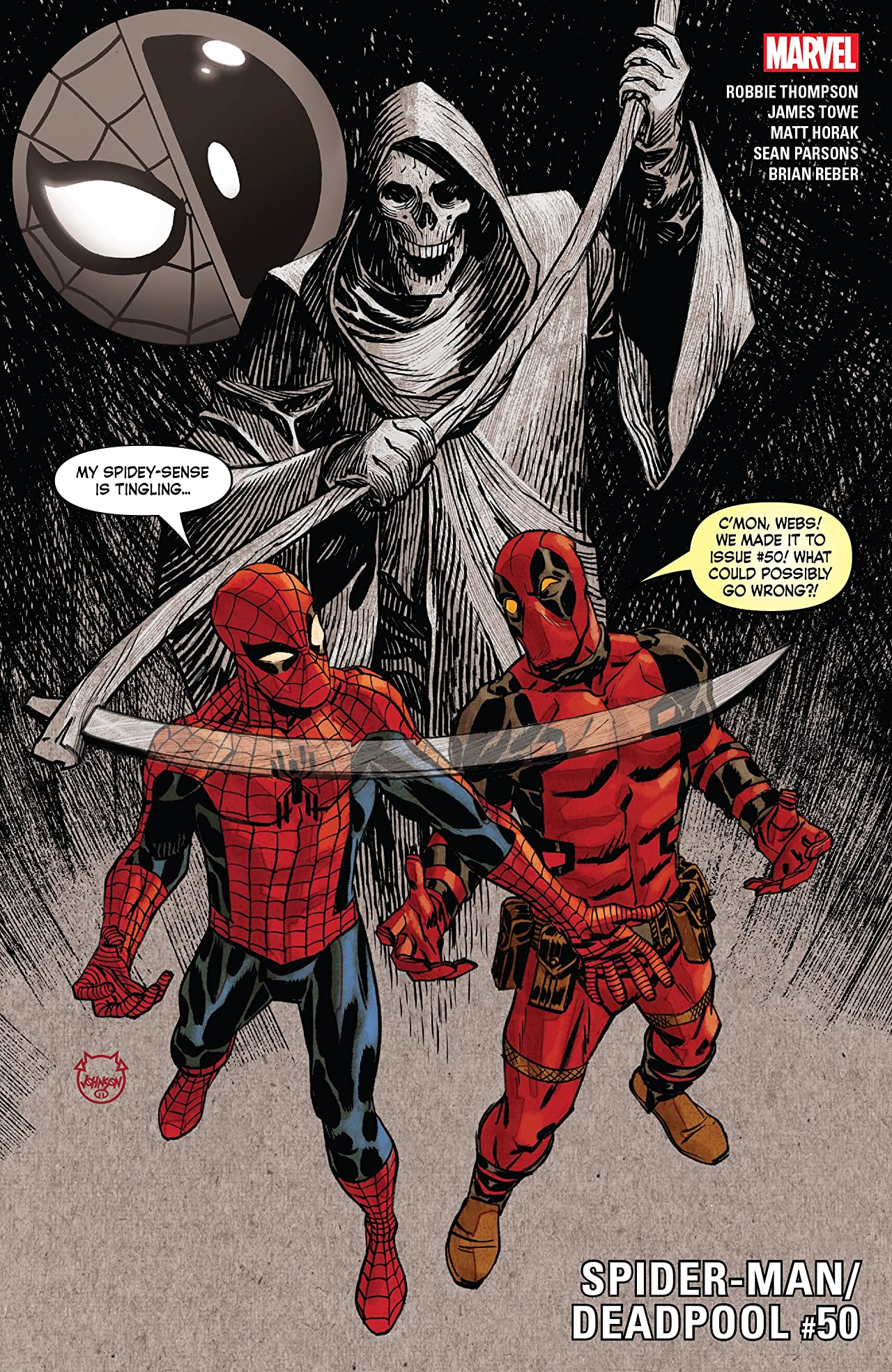 Spider-Man/Deadpool (2016-) No.50