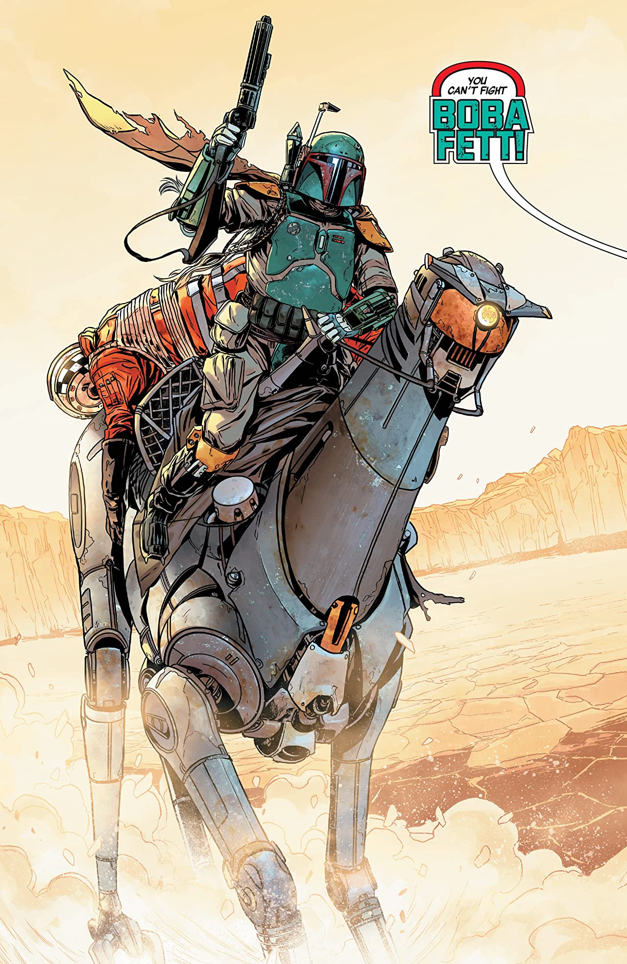 Star Wars: Age Of Rebellion - Boba Fett (2019) #1