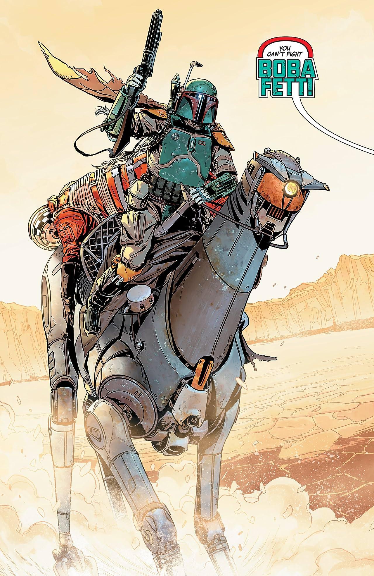 Star Wars: Age Of Rebellion - Boba Fett (2019) No.1