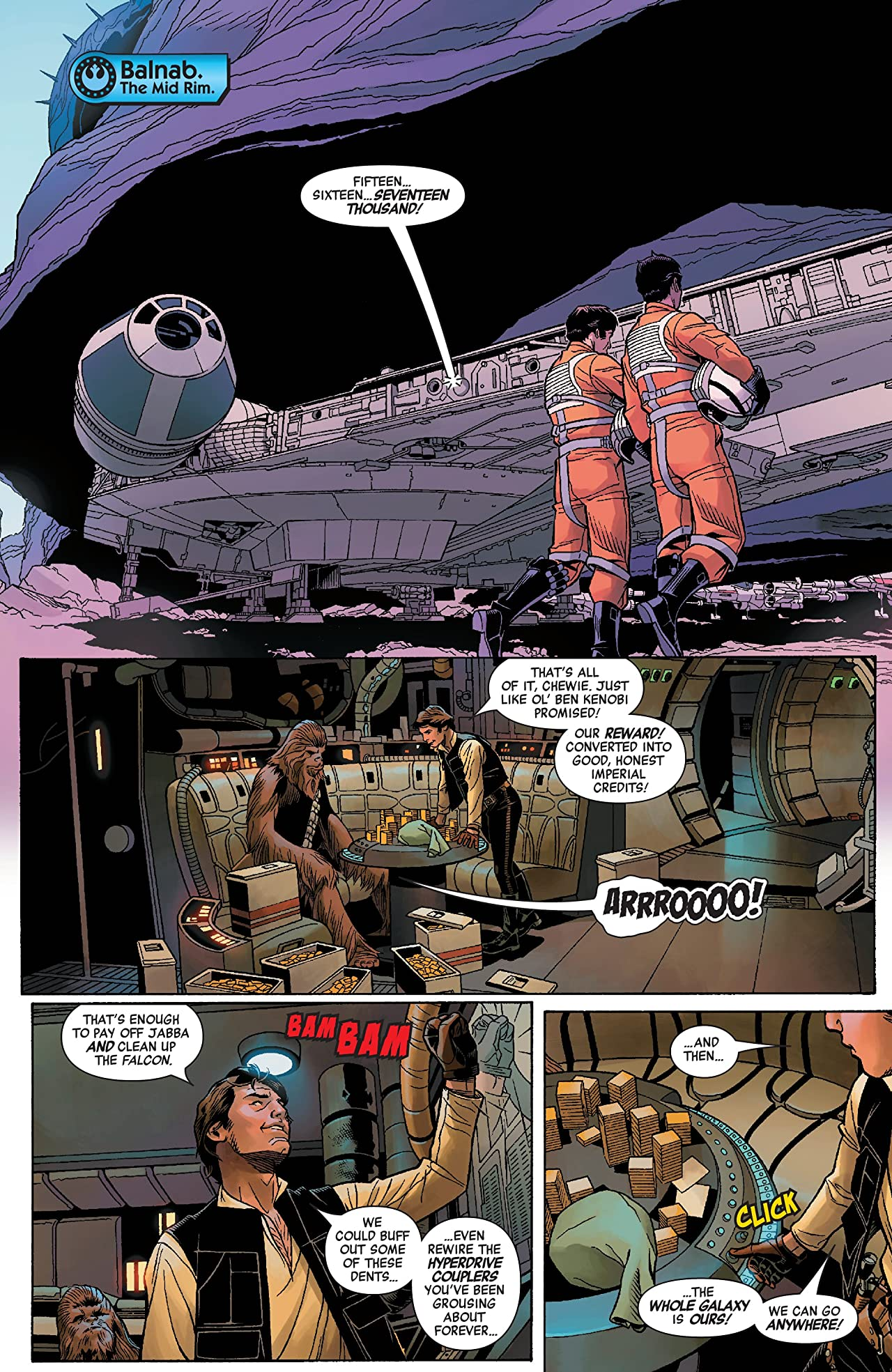 Star Wars: Age Of Rebellion - Han Solo (2019) #1