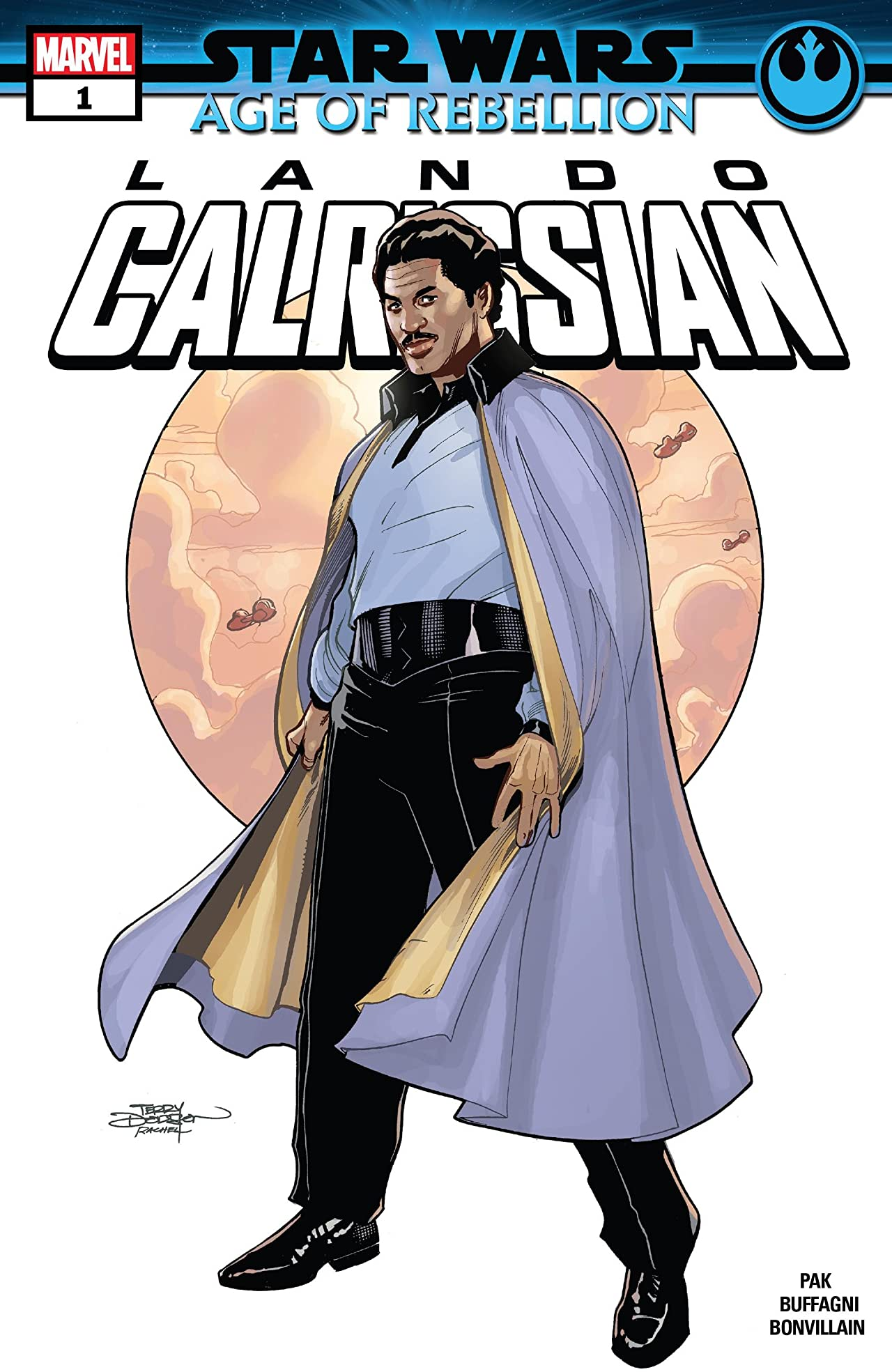Star Wars: Age Of Rebellion - Lando Calrissian (2019) No.1