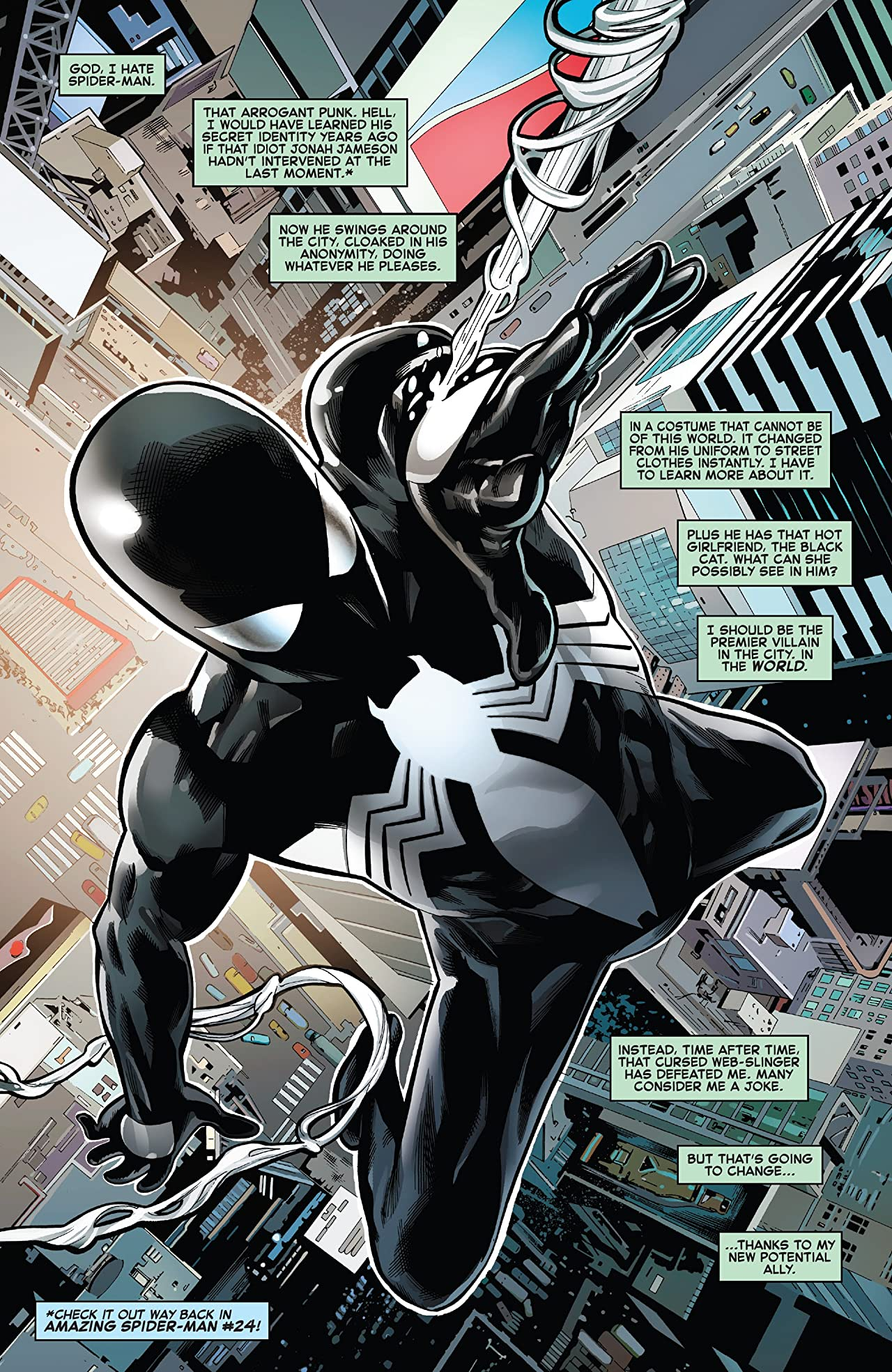 Symbiote Spider-Man (2019-) #2 (of 5)