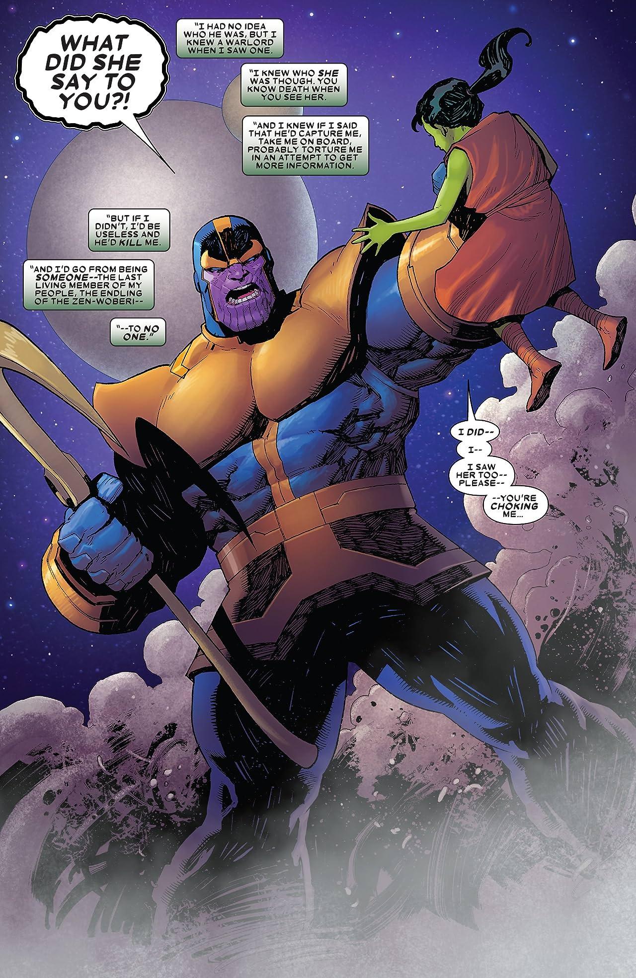 Thanos (2019-) #2 (of 6)