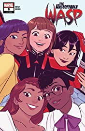 The Unstoppable Wasp (2018-) #8