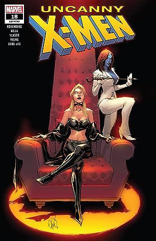 Uncanny X-Men (2018-2019) No.18