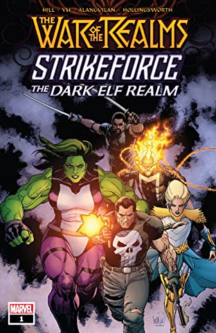 War Of The Realms Strikeforce: The Dark Elf Realm (2019) No.1