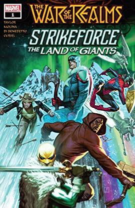 War Of The Realms Strikeforce: The Land Of Giants (2019) #1