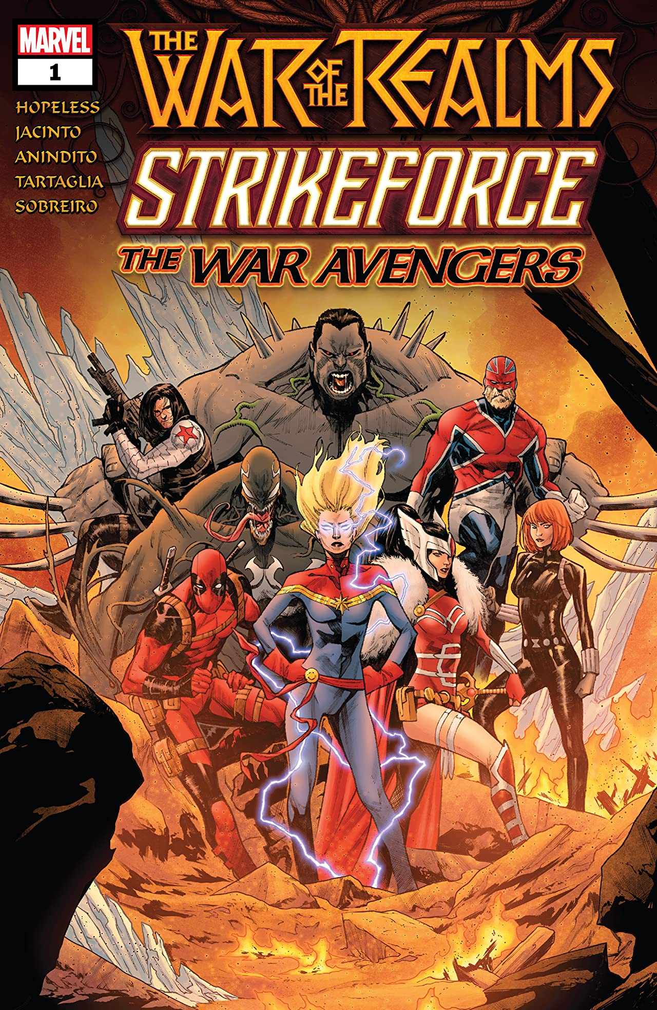 War Of The Realms Strikeforce: The War Avengers (2019) No.1