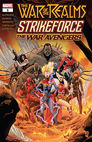 War Of The Realms Strikeforce: The War Avengers (2019) #1