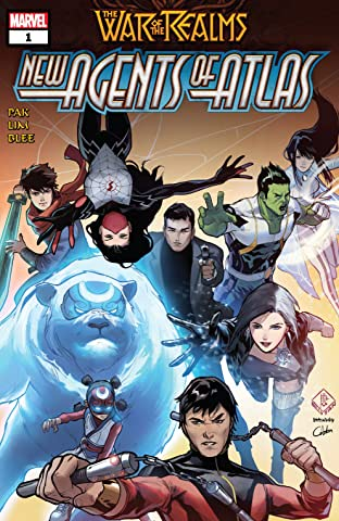 War Of The Realms: New Agents Of Atlas (2019) No.1 (sur 4)