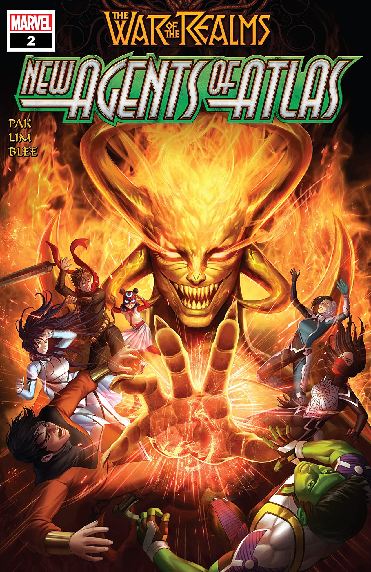 War Of The Realms: New Agents Of Atlas (2019) No.2 (sur 4)