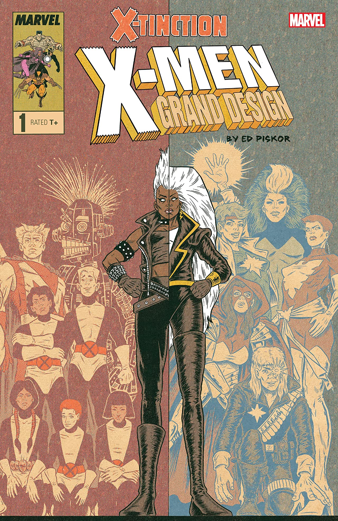 X-Men: Grand Design - X-Tinction (2019) No.1 (sur 2)