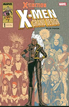 X-Men: Grand Design - X-Tinction (2019) #1 (of 2)