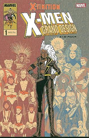 X-Men: Grand Design - X-Tinction (2019) #1 (of 2)