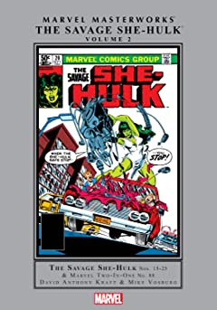 Savage She-Hulk Masterworks Vol. 2