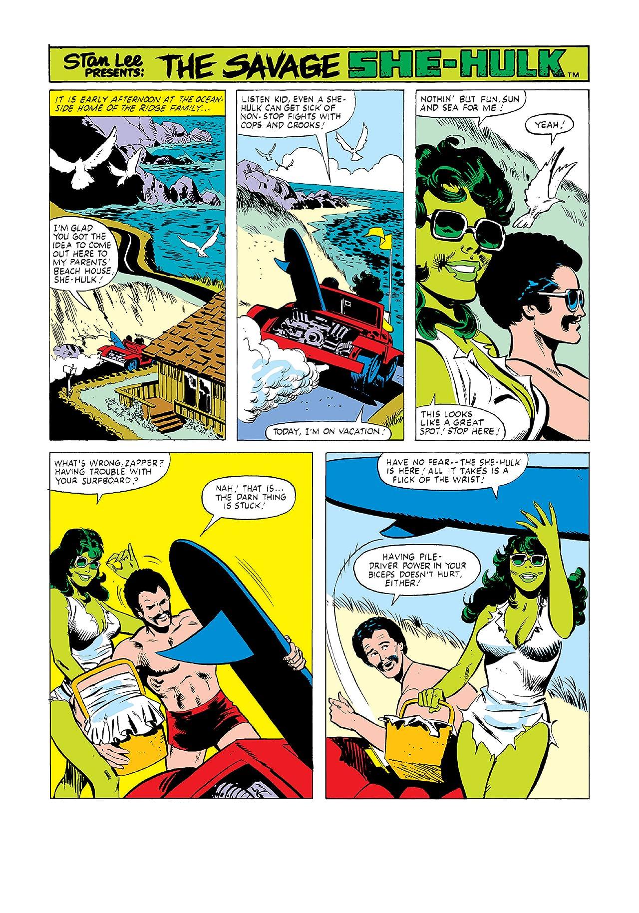 Savage She-Hulk Masterworks Vol. 2