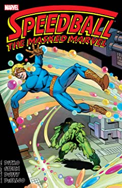 Speedball: The Masked Marvel