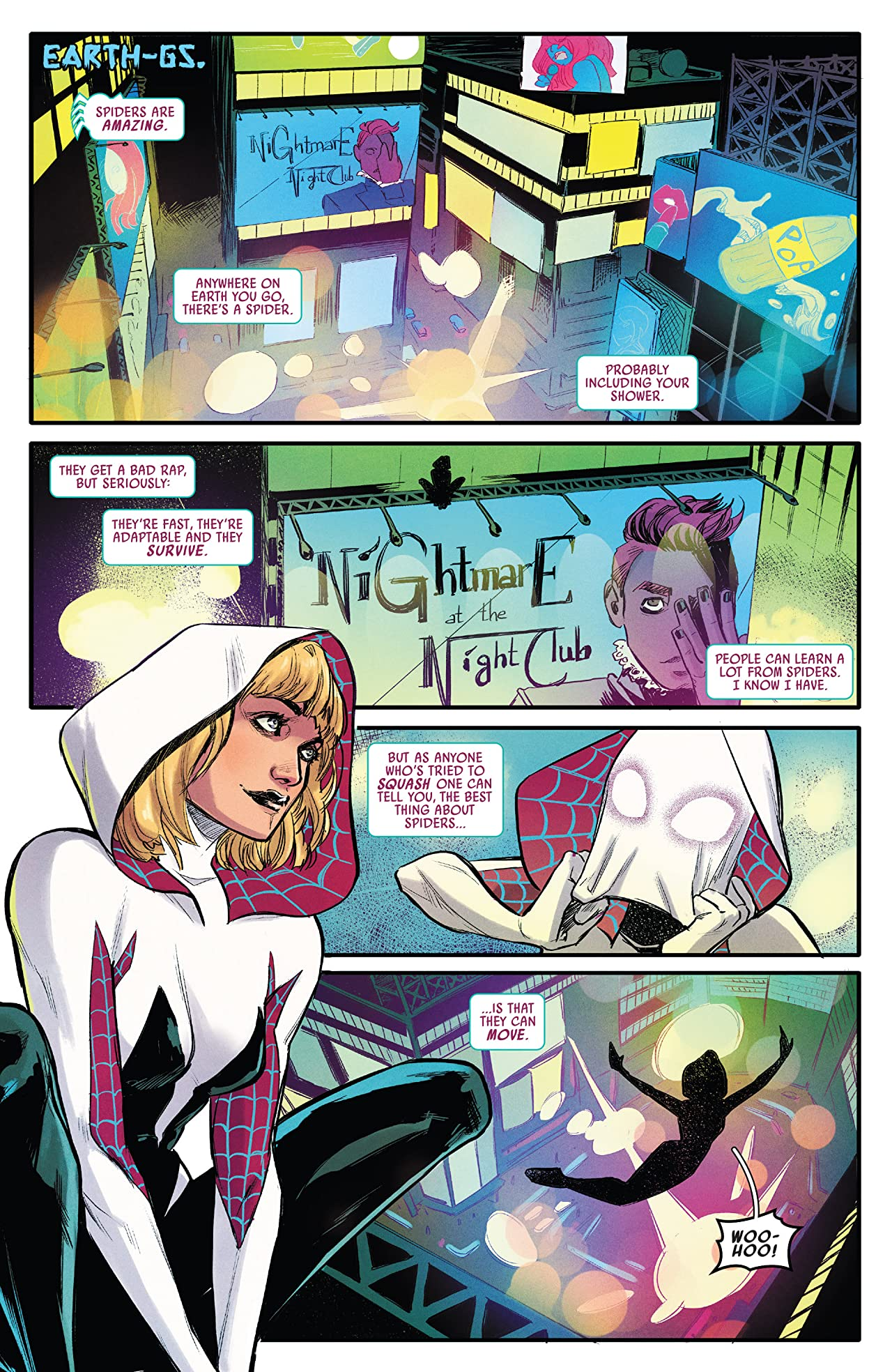 Spider-Gwen: Ghost-Spider Vol. 1: Spider-Geddon