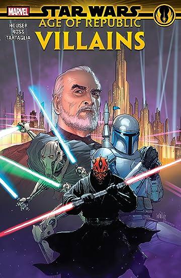 Star Wars: Age Of Republic - Villains