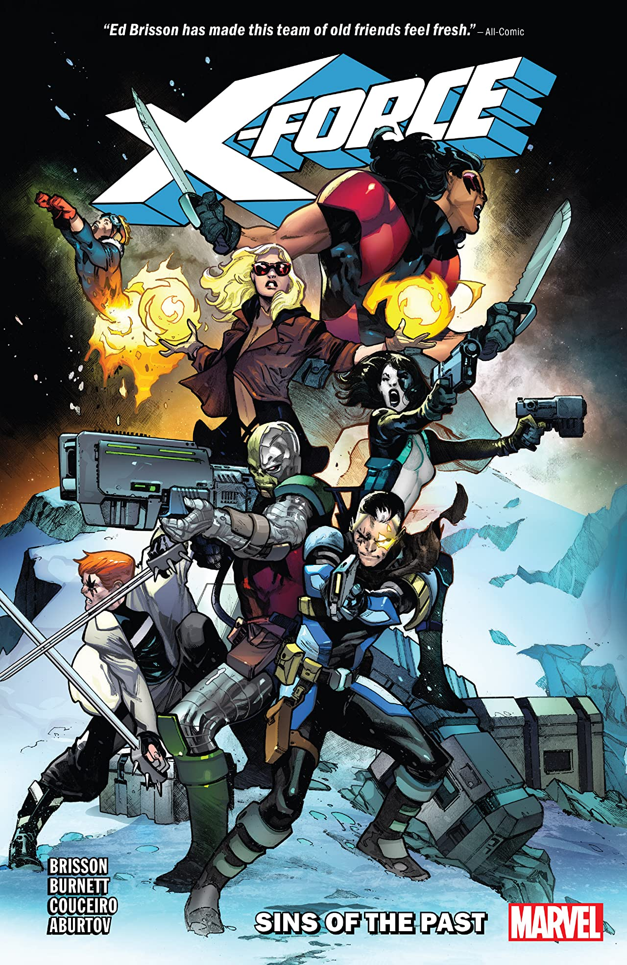 X-Force Tome 1: Sins Of The Past