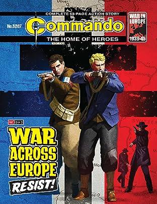 Commando #5207: War Across Europe: Resist!