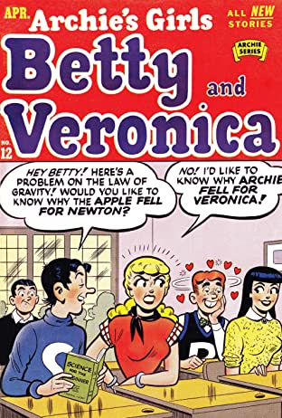 Archie's Girls Betty & Veronica No.12