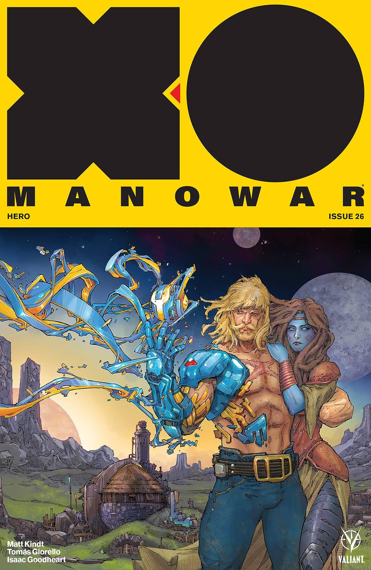 X-O Manowar (2017) No.26