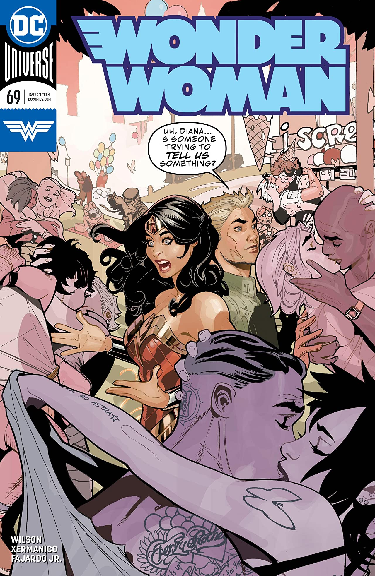 Wonder Woman (2016-) No.69