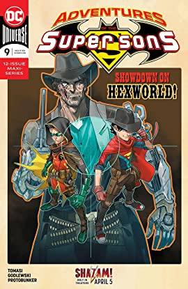 Adventures of the Super Sons (2018-2019) #9