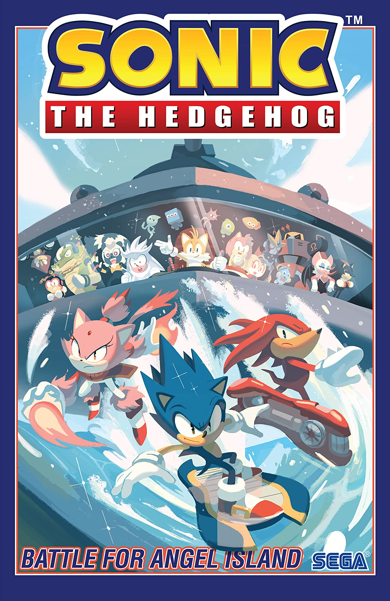 Sonic the Hedgehog Vol. 3: Battle For Angel Island