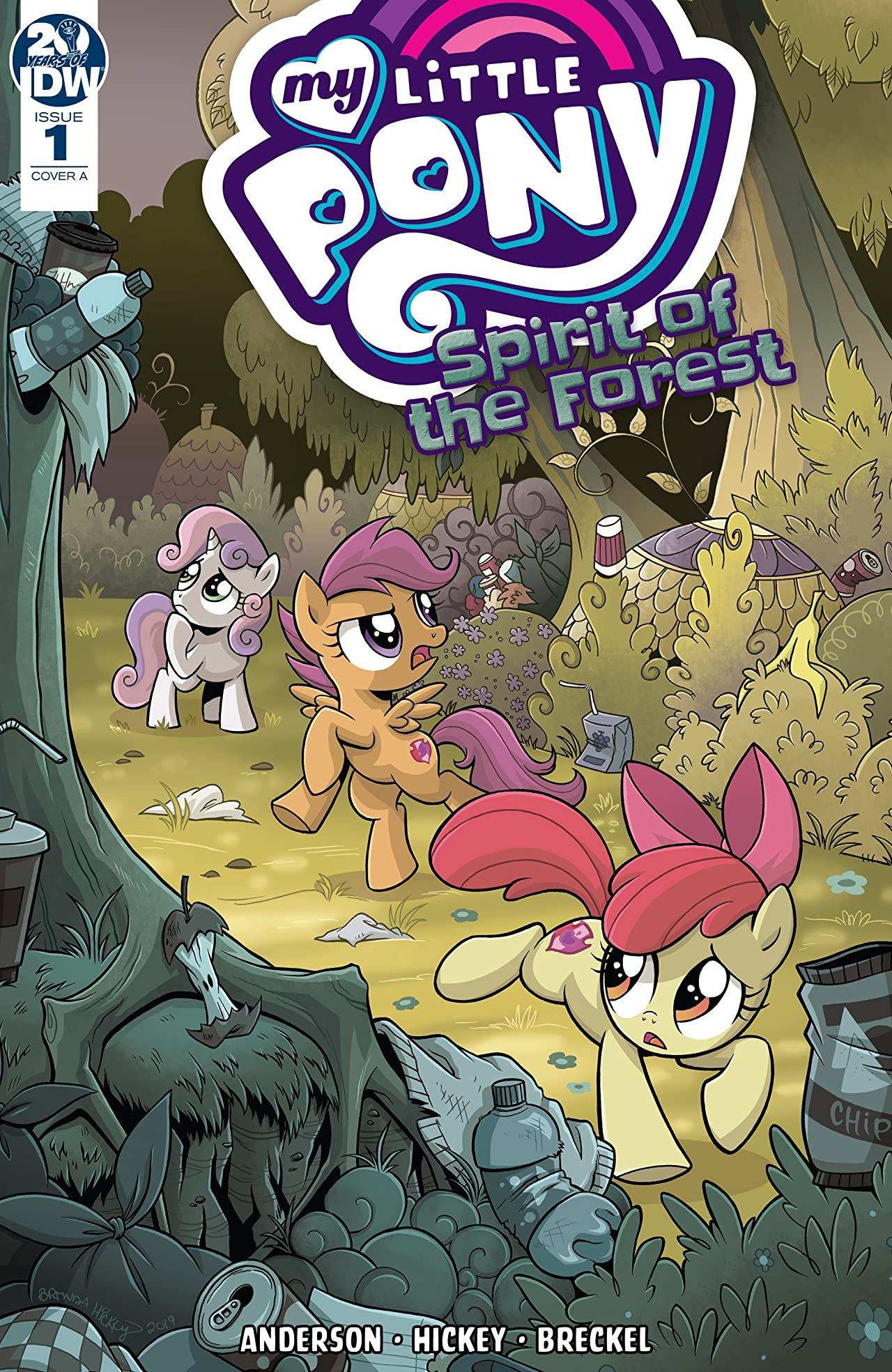My Little Pony: Spirit of the Forest #1 (of 3)