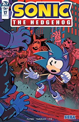 Sonic The Hedgehog (2018-) No.17