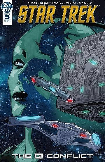 Star Trek: The Q Conflict #5 (of 6)