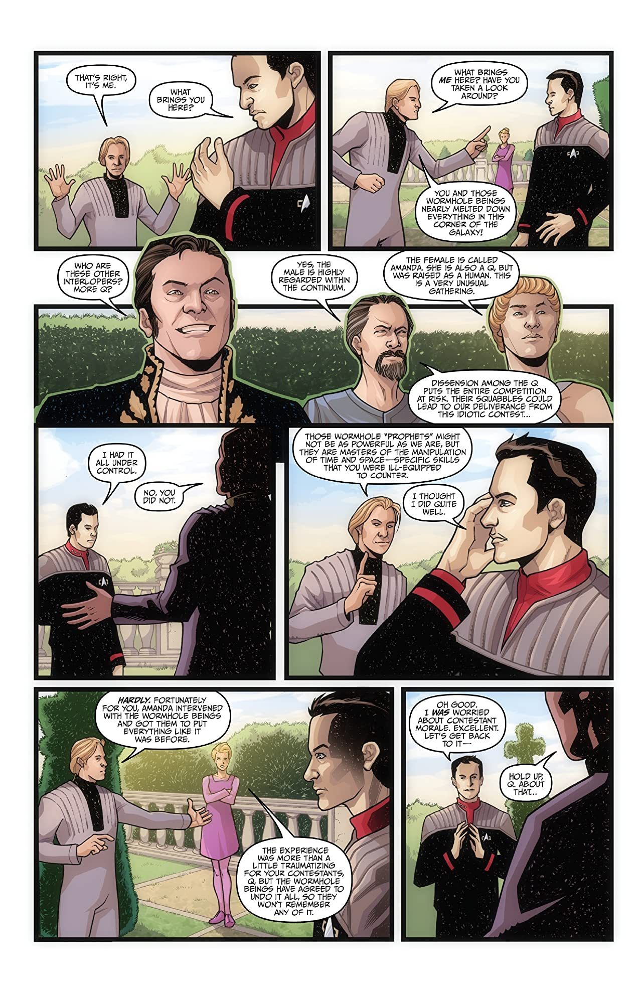 Star Trek: The Q Conflict #5 (of 6)