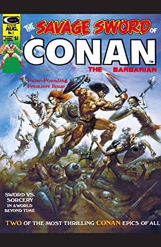 Savage Sword Of Conan (1974-1995) #1